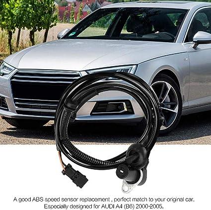 2000 2001 2002 2003 2004 2005 Car Rear Left//Right ABS Speed Sensor Fit for AUDI A4/ 8E2, B6 8E5, B6 Avant