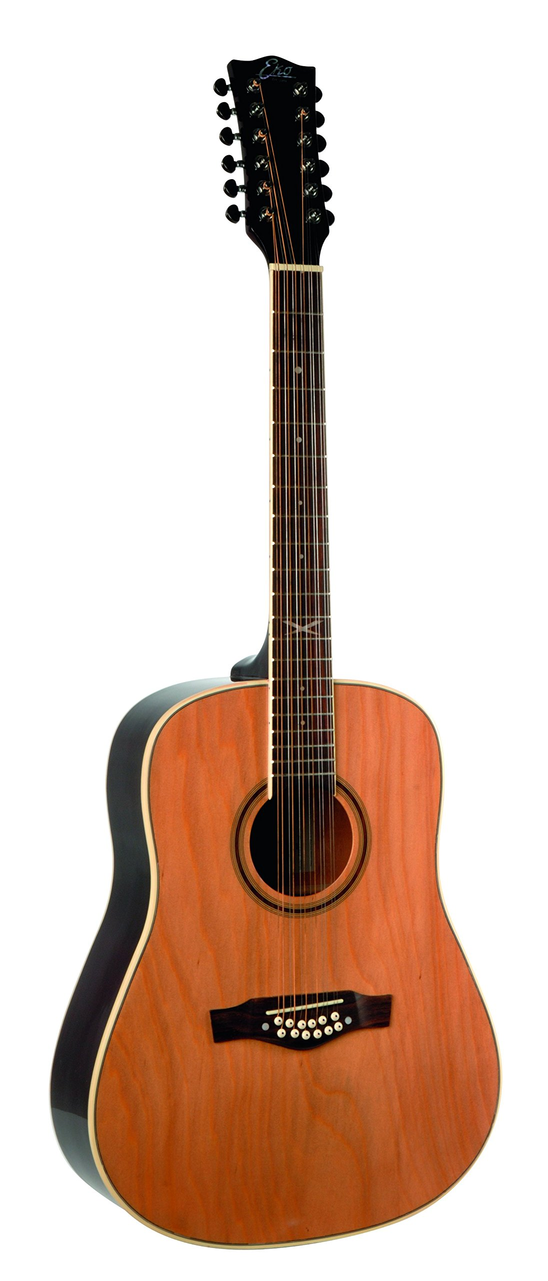 eko guitars 06217010 nxt series 12 string dreadnought acoustic guitar natural guitar affinity. Black Bedroom Furniture Sets. Home Design Ideas