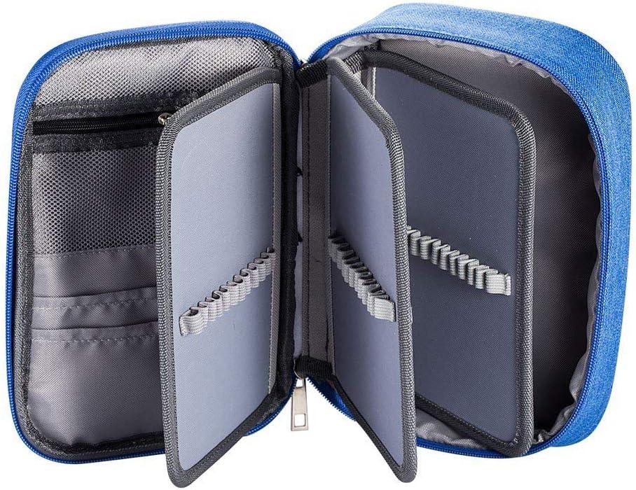 Fcloud - Estuche Multifuncional, 72 Compartimentos, para Colorear, portalápices, Organizador: Amazon.es: Hogar