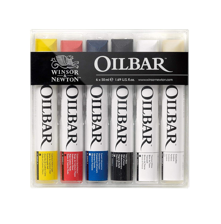 Amazon com: Winsor & Newton Oilbar, Set of 6: Arts, Crafts
