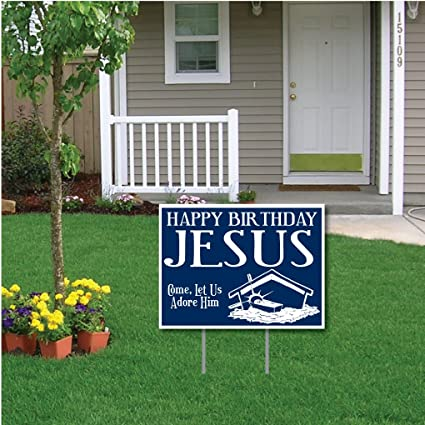 Amazon VictoryStore Yard Sign Outdoor Lawn Decorations