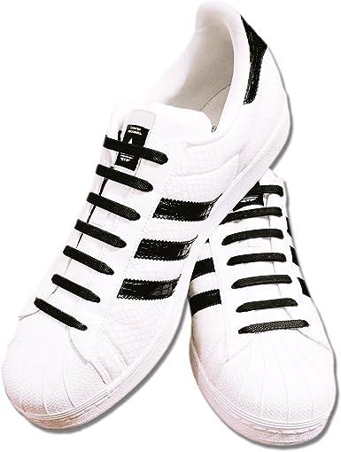 Rushh USA No Tie Shoelaces, Elastic