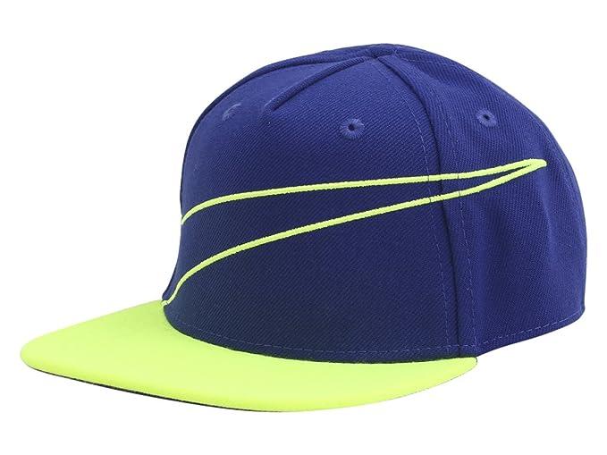 020e4b4b9e1 Nike Infant Swoosh Logo Dark Royal Snapback Baseball Cap Hat Sz  12 24  Months  Amazon.co.uk  Clothing
