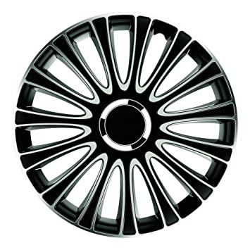 Gorecki 2211197 – Juego Tapacubos Lemans Pro Silver Black 16 Pulgadas