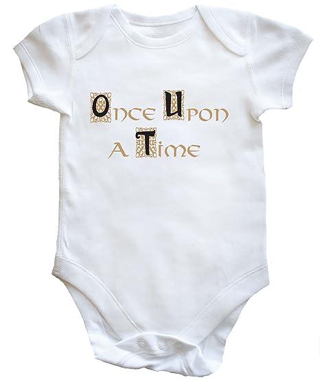 HippoWarehouse Once Upon a Time (Había Una Vez) body bodys pijama niños niñas unisex: Amazon.es: Ropa y accesorios