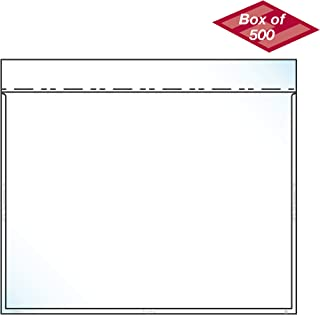 """product image for EnvyPak Clear Catalog Envelope, Auto-Insertable No Tape, Horizontal Style Holds 8.5"""" x 11″ Insert - Box of 500"""