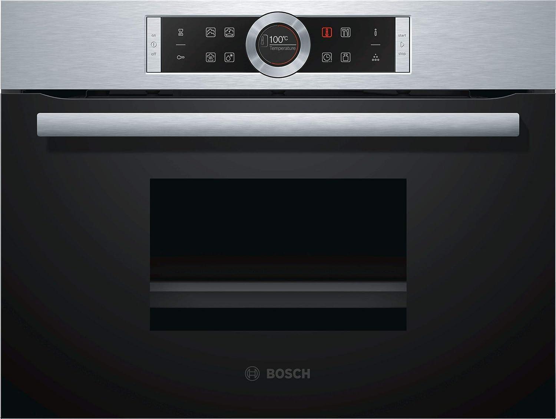 Bosch CDG634BS1 Serie 8, vaporizador eléctrico / empotrable / 59.5 cm / 38 L / vapor