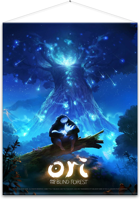 Ori and the Blind Forest Wallscroll Key Art 100 x 77 cm Gaya ...