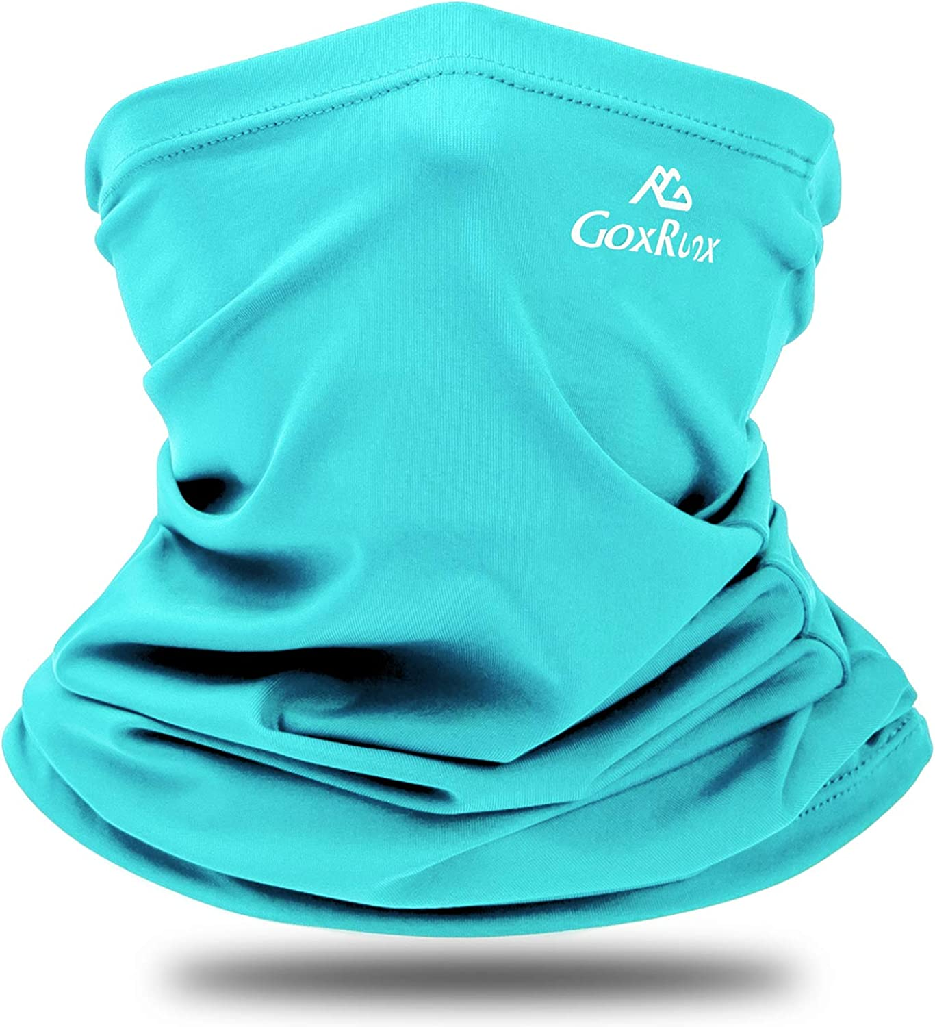 Summer Neck Gaiter Sun UV Protection Face Cover Cooling Neck Scarf Anti Dust Windproof Bandana for Hiking Cycling Fishing