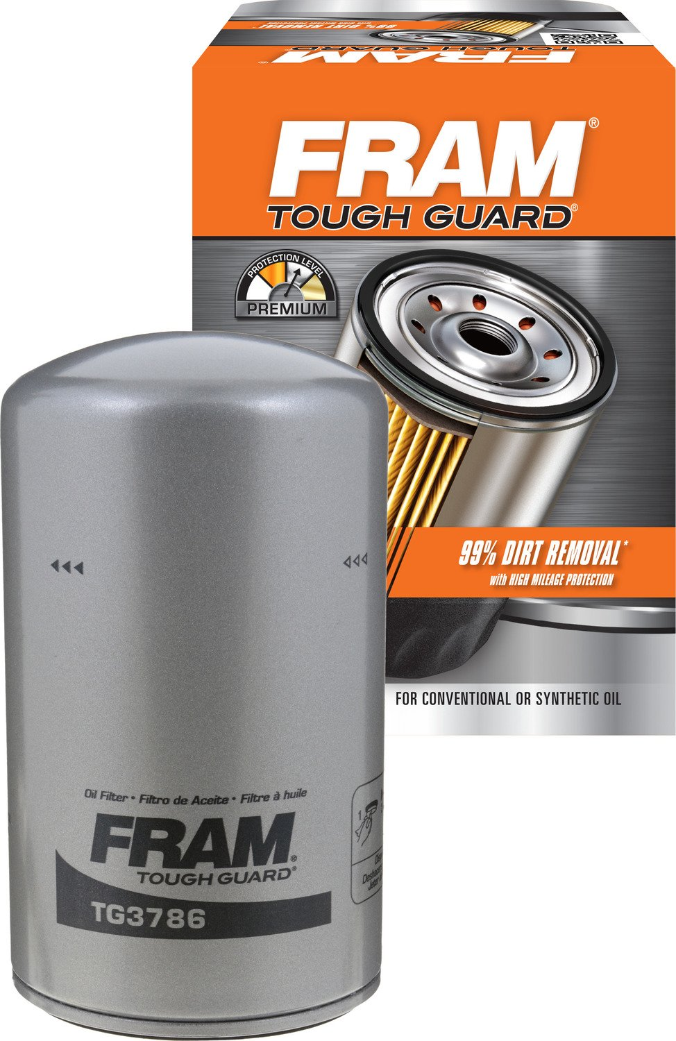 FRAM TG3786 Tough Guard Spin-On Oil Filter product image
