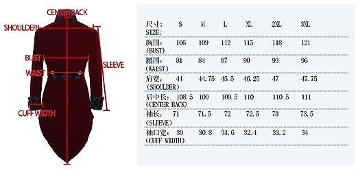 Veste Homme Longue Rouge et Noire Aristocrate en Velours avec Broderies et  col  Amazon.fr  Vêtements et accessoires 05560cba6d16