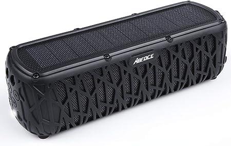 side facing abfoce solar bluetooth speaker