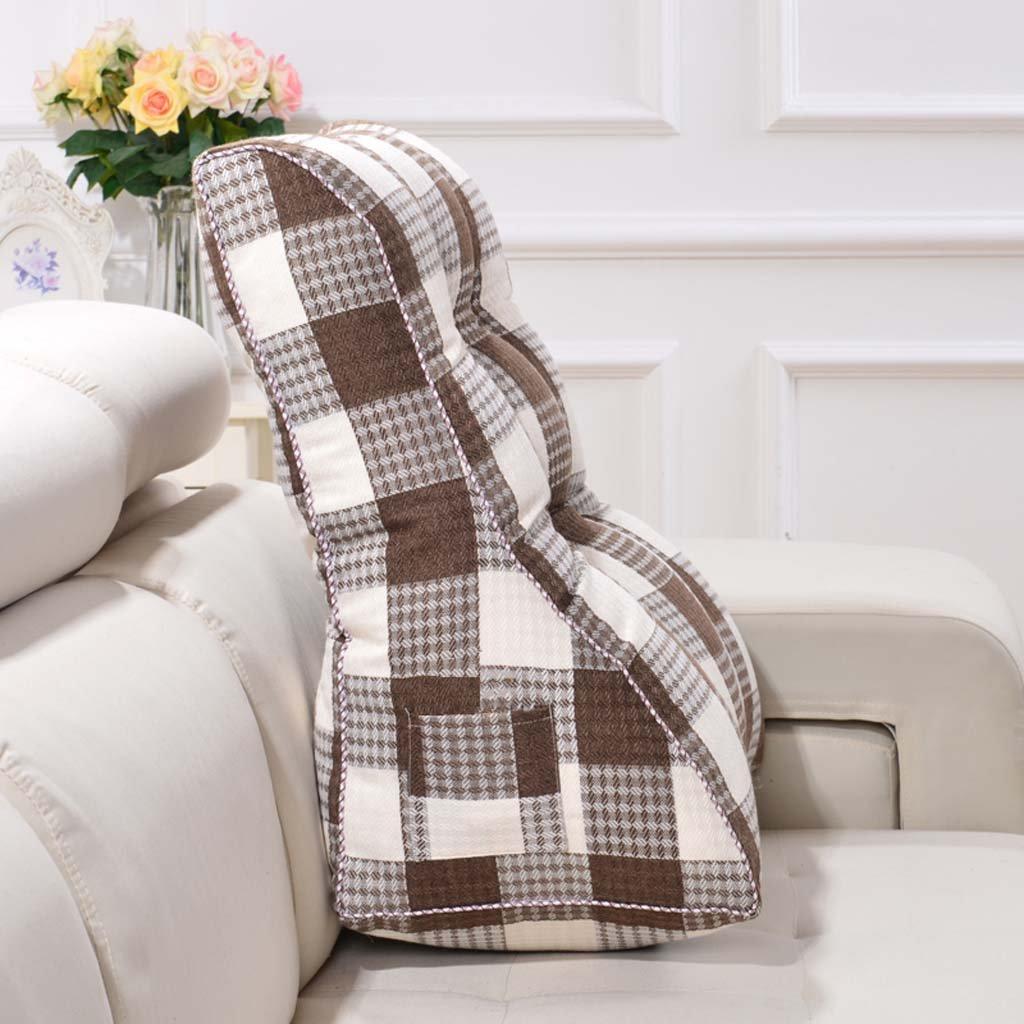 Creative Light-Kissen Light-Kissen Light-Kissen Dreieck Kissen Doppelbett mit großen Kissen Bett zurück zu waschbar ( Farbe   G , größe   55 cm ) B07B92XWTF Kopfkissenbezüge 1578a8