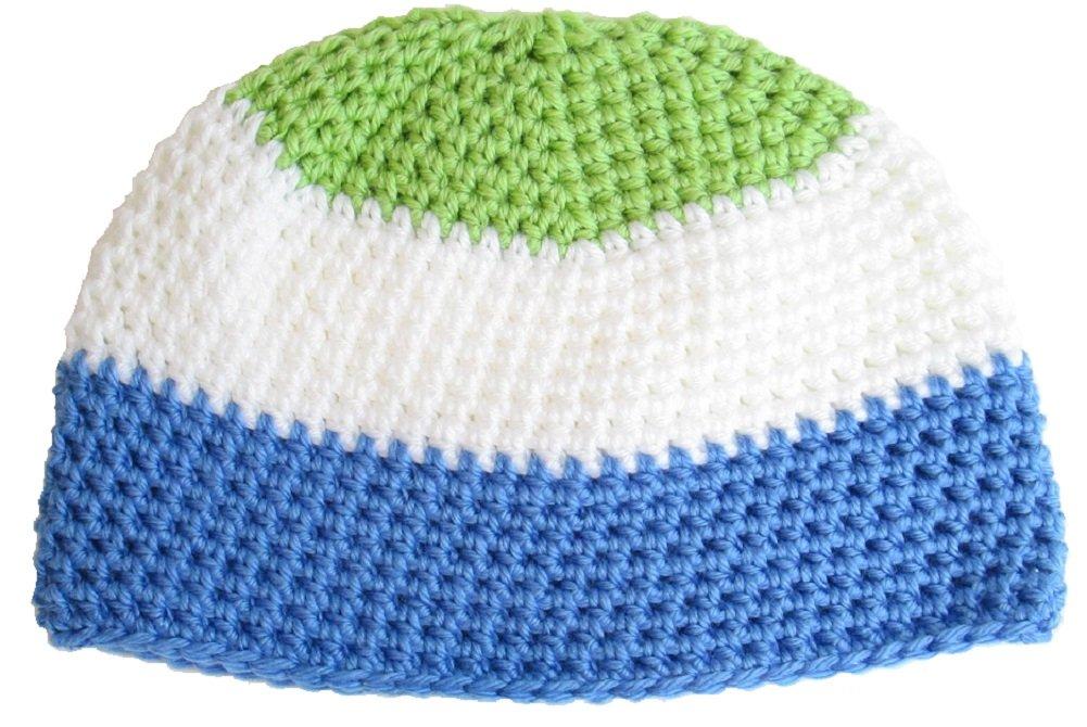 Sierra Leone Flag Beanie Hat Cap