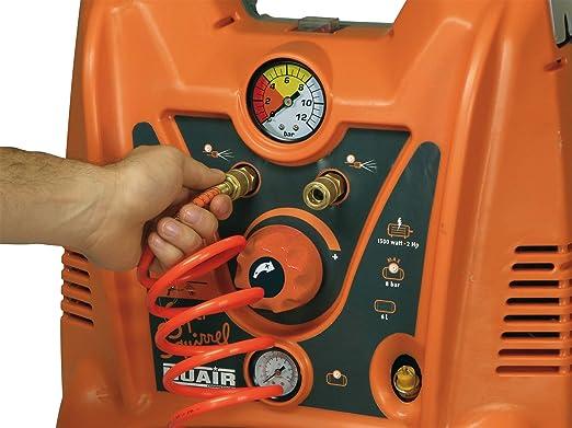 RevolutionAIR 8215210 Compresor de Aire 230 V, Super Squirrel: Amazon.es: Bricolaje y herramientas