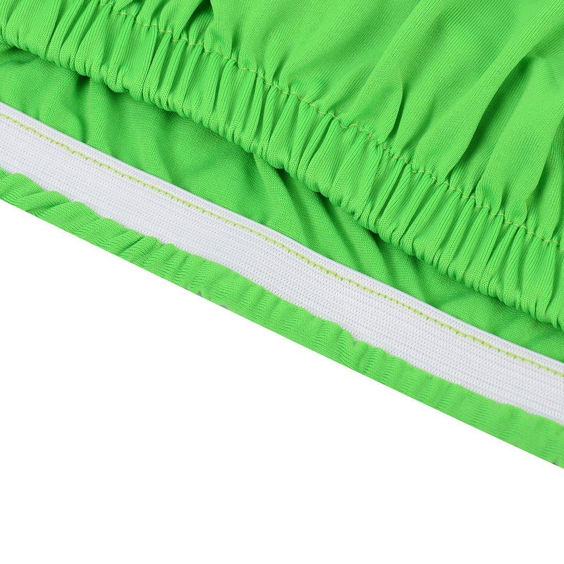 Amazon.com: Spandex Festa Casamento Casa DealMux Elastic reutilizável lavável Chair Seat Cover Protector Verde: Home & Kitchen