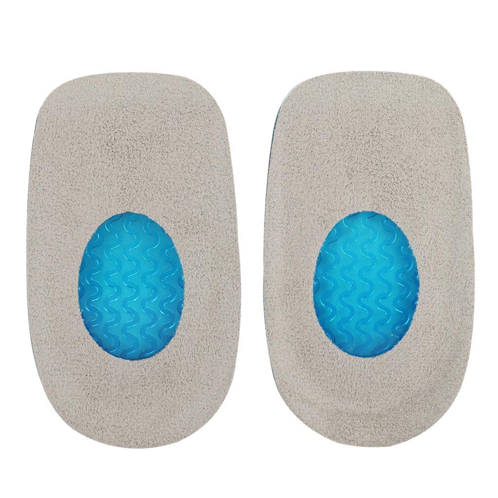 Footful 1 Paire Talonnettes Coussinets Renfort du Talon en Gel de Silicone pour Femme