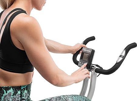 ProForm Bicicleta ProFrom X-Bike, Plegable, magnética y 10 Niveles de Resistencia, Adultos Unisex, Gris, Talla Única: Amazon.es: Deportes y aire libre