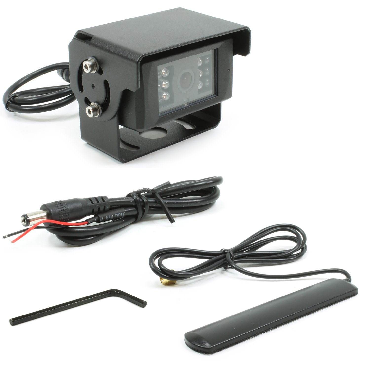 Rostra 250-8153 Cmos Color Camera with Wireless Video Transmitter//Built-in Microphone//Infrared Leds