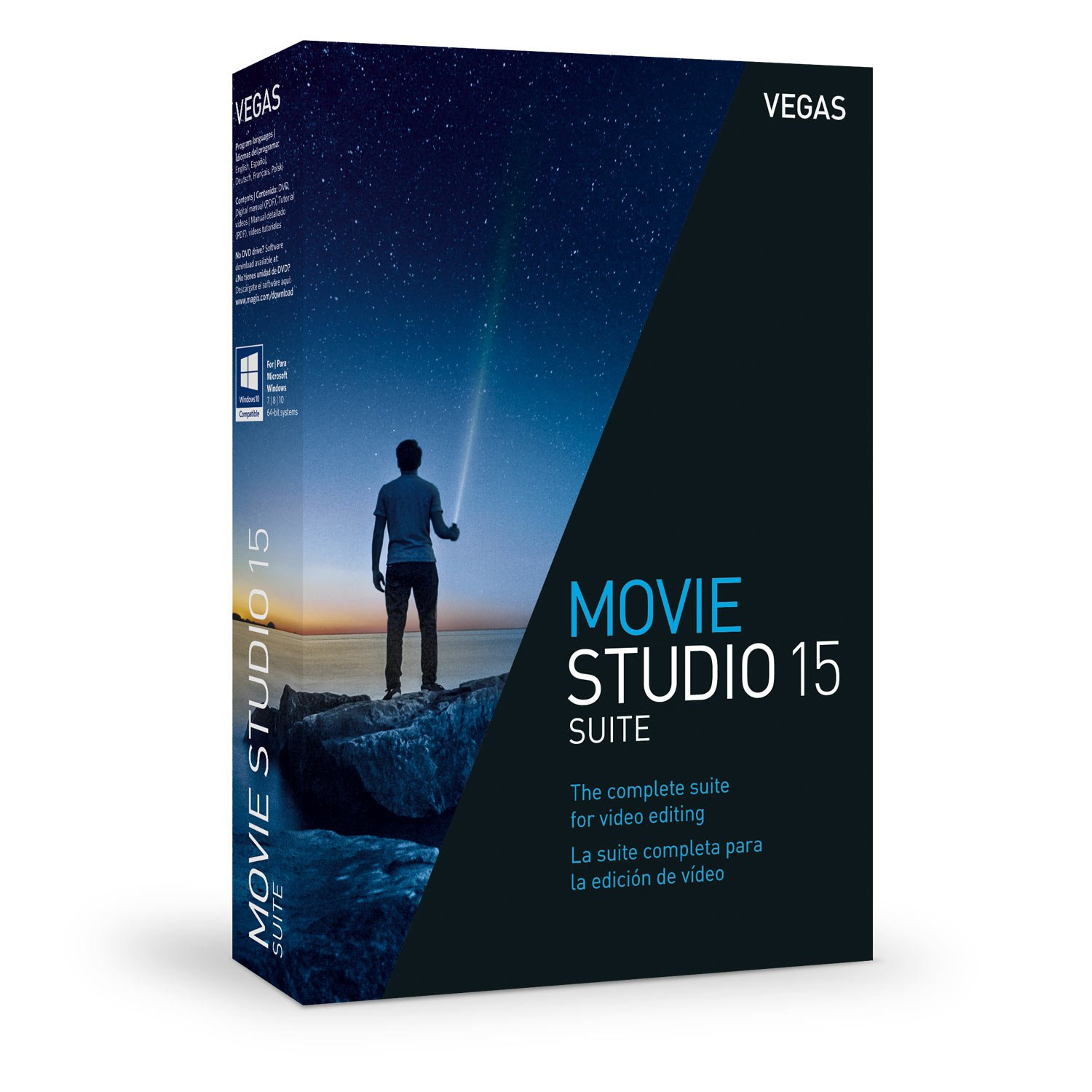 VEGAS Movie Studio 15 Suite - Create Stunning Movies by Vegas