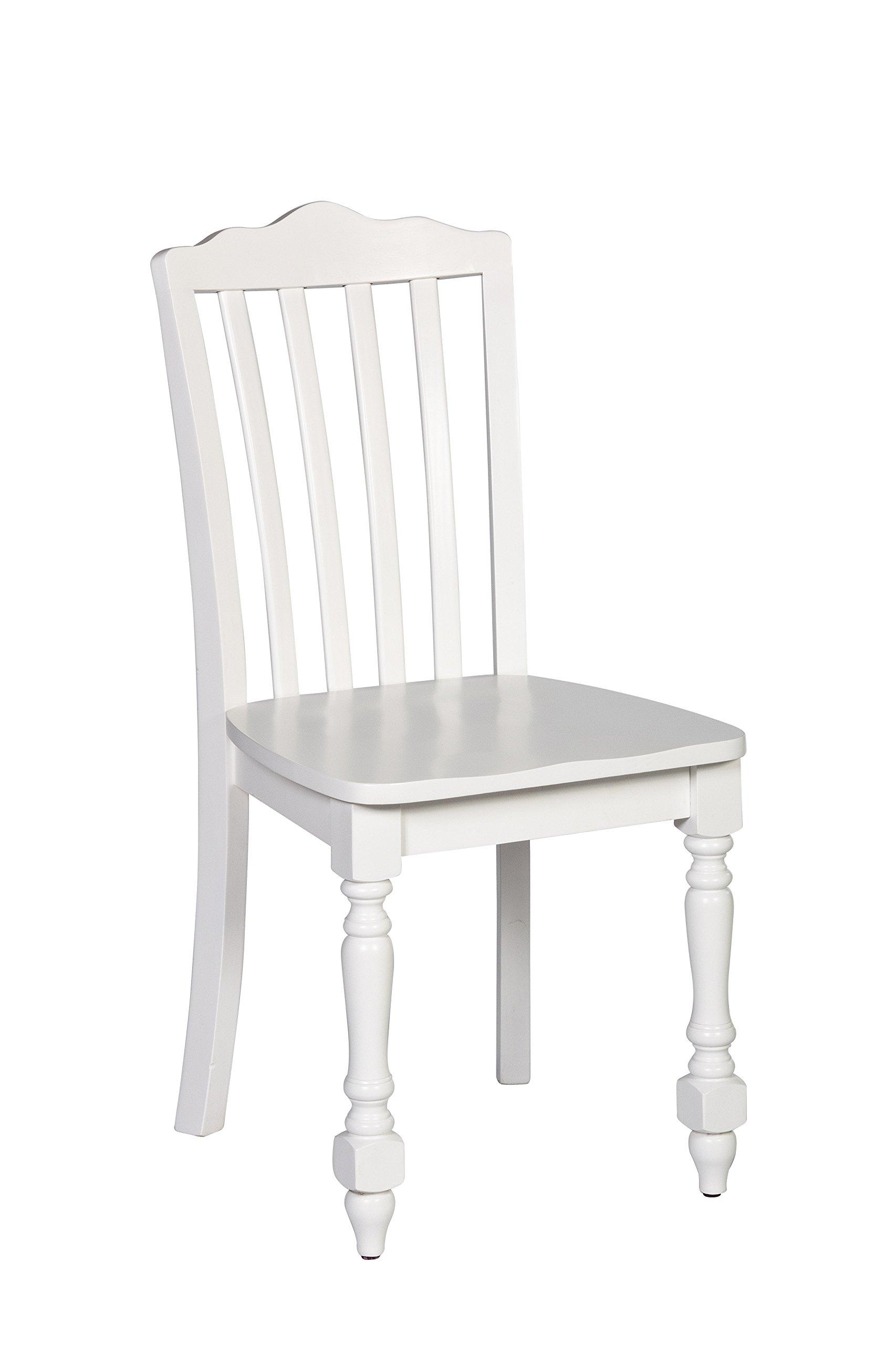 Hillsdale 1528-801 Lauren Chair, White