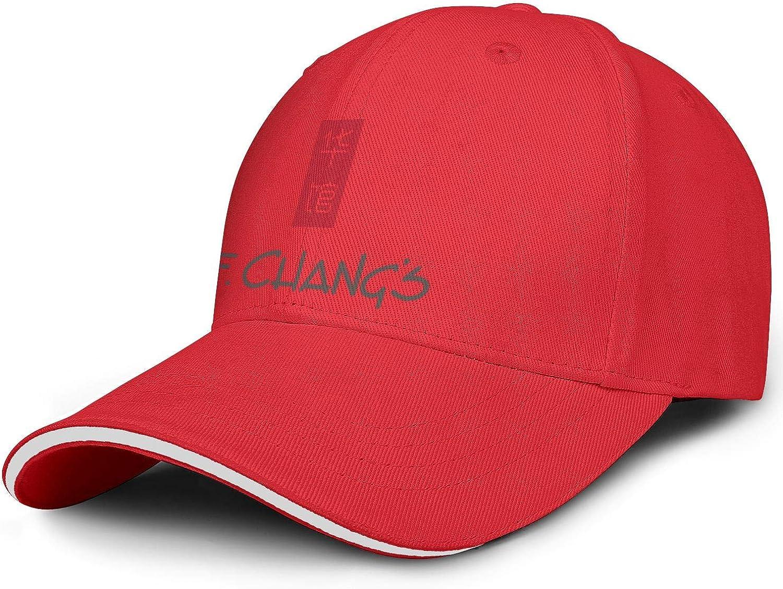 LSHOEJFVG Unisex Man's PF Changs Restaurant Hat Baseball Hat Adjustable Strapback Flat Caps