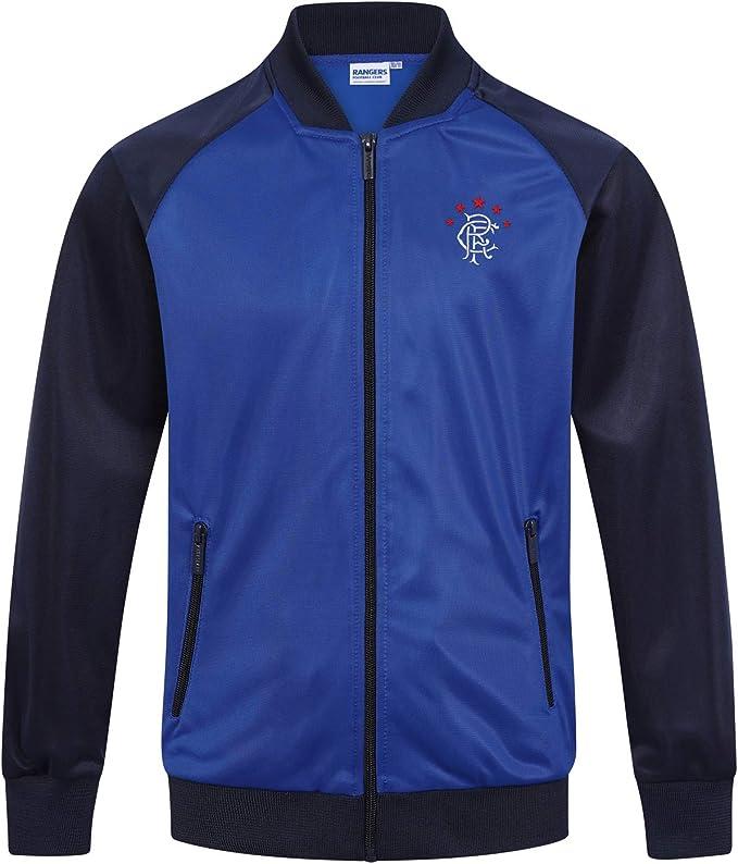 Rangers FC Official Football Gift Boys Fleece Zip Hoody