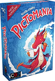 Czech Games Edition CGE00047 Pictomania, Mehrfarbig