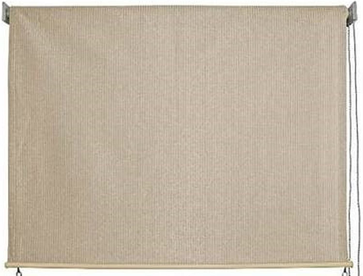 Keystone Fabrics Outdoor Roller Sun Shade, 8-Feet by 6-Feet, Monterey