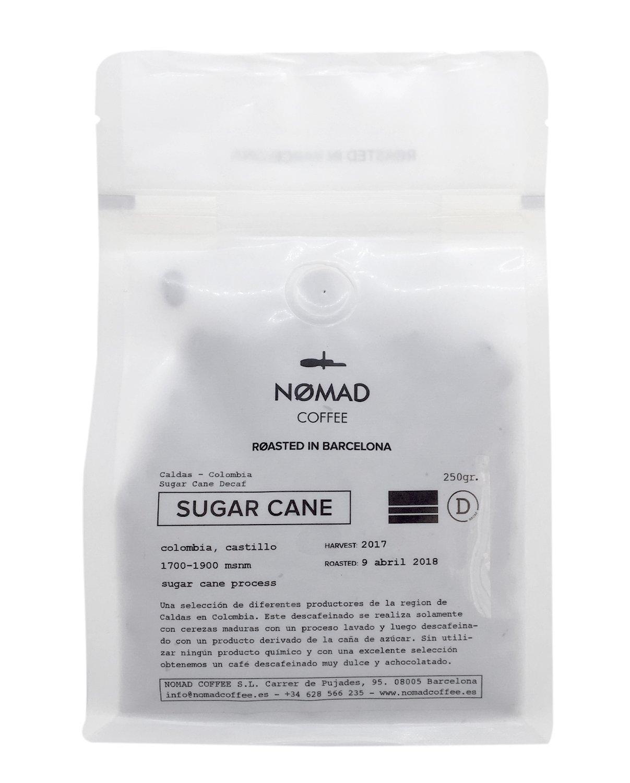 Nomad Coffee - Decaf - Café de Especialidad Descafeinado en Grano, Tueste Espresso - Roasted in Barcelona - 250g: Amazon.es: Alimentación y bebidas