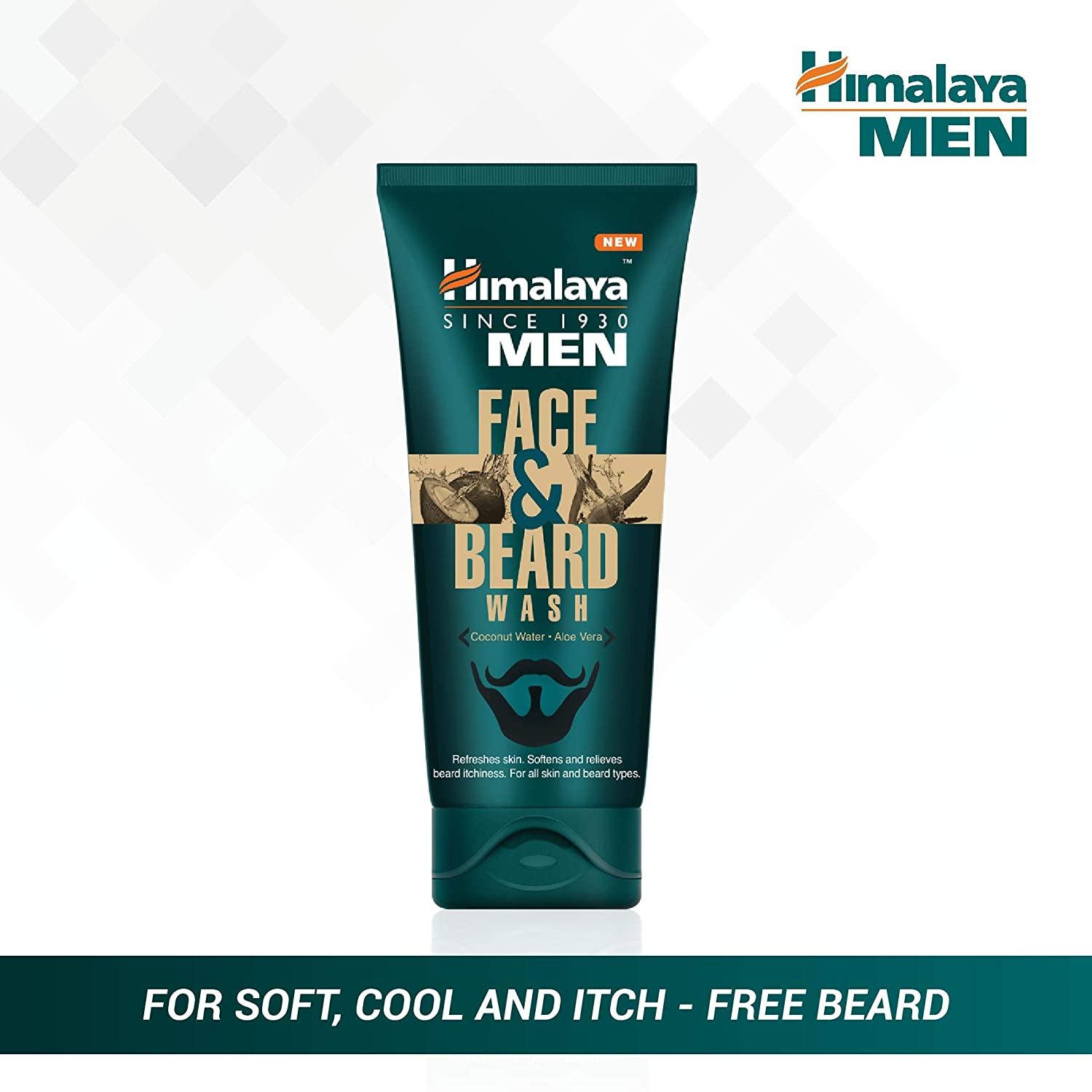 Remarkable Himalaya Men Face And Beard Wash 40Ml Amazon In Beauty Natural Hairstyles Runnerswayorg