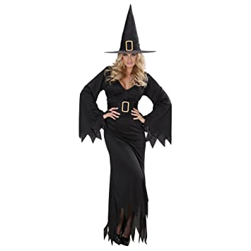 WIDMANN 7667W - Disfraz de bruja para mujer (talla XL): Amazon.es ...