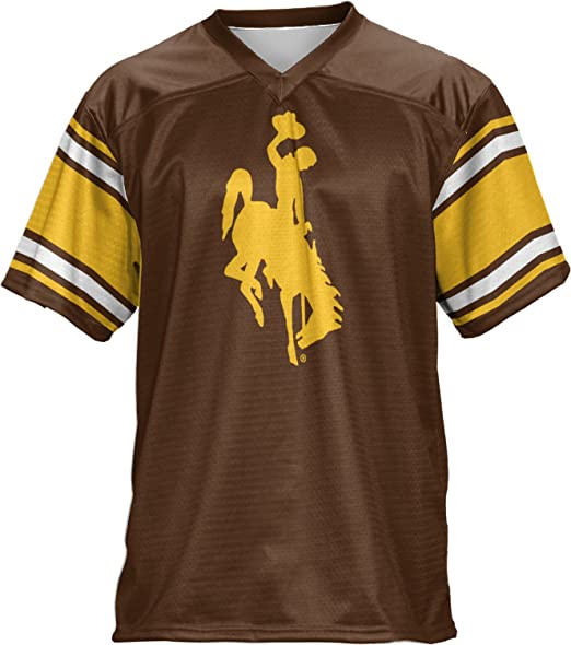 finest selection 81941 23e23 Amazon.com: ProSphere University of Wyoming Men's Football ...