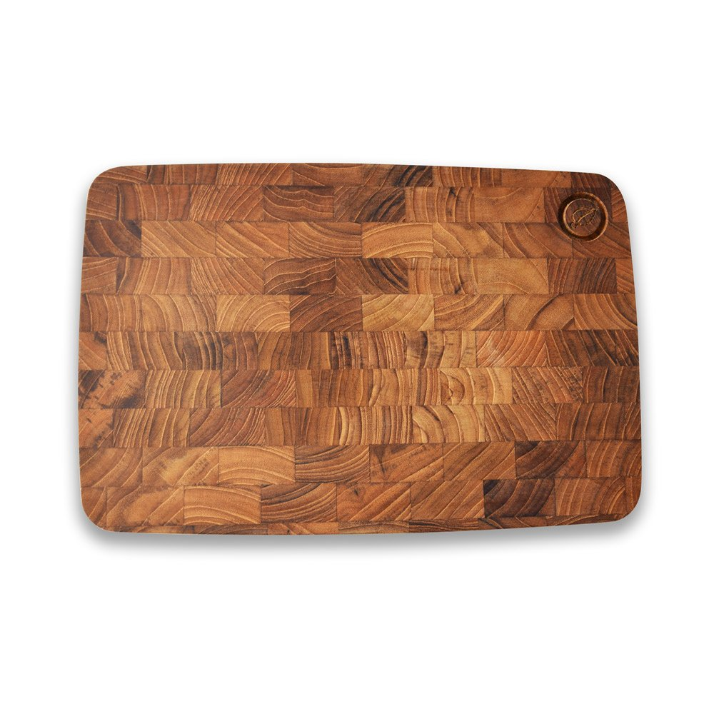 de Bois Board – Baguette (S) 11.8 x 0.6 x 7.9 inches l Organic Teak Serving Tray l Teak Board l Baguette Board l Half Size I Non Toxic Wooden Kitchen Utensils l Gift For Serving Happiness
