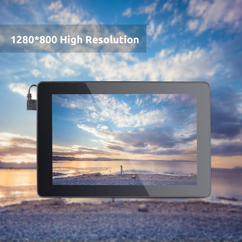 SunFounder RasPad - Batería integrada para tablet Raspberry Pi (pantalla táctil de 10,1