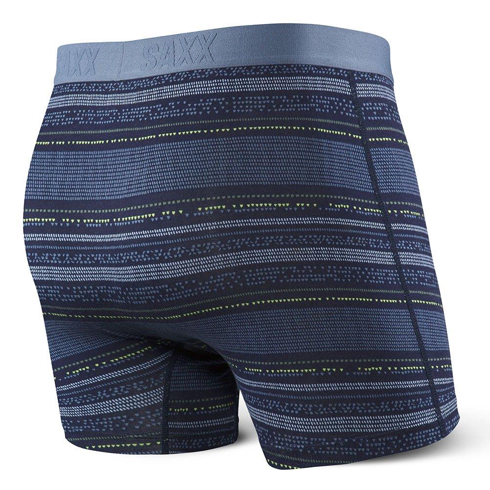 22039f712 Saxx Underwear Men s Ultra Boxer Fly Pixel Stripe Underwear at Amazon Men s  Clothing store