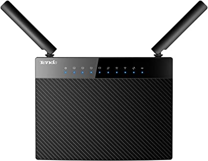 Tenda routeur wifi 1200Mbps gibabit double bande 867Mbps en 5GHz, 300Mbps en 2.4 GHz, 5 ports ethernet 1 port USB2.0 (AC9)
