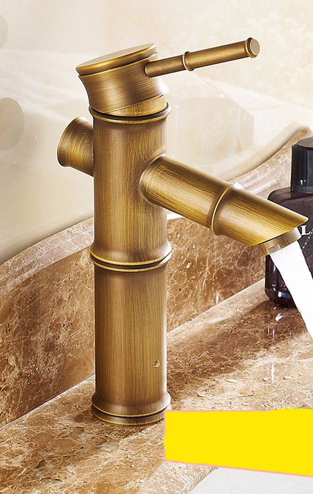 SCLOTHS Bathroom Basin Sink Mixer Tap Faucet Modern retro style copper hot and cold tap