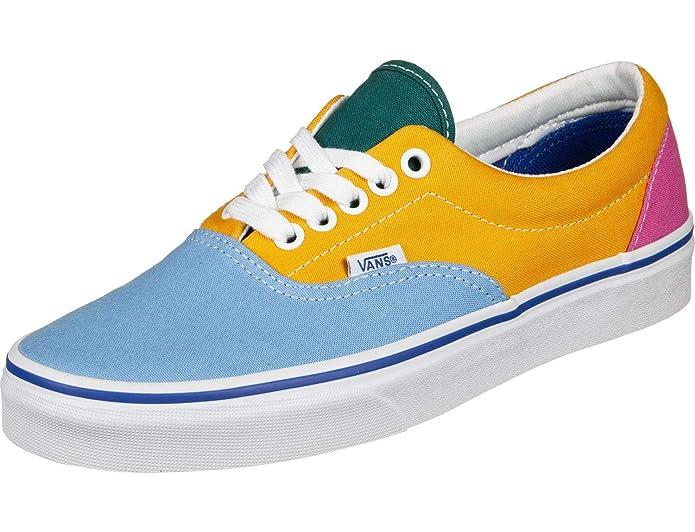 Vans Era Sneakers Unisex Gelb/Pink/Blau