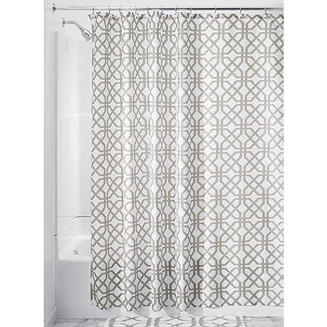 InterDesign Trellis Fabric Shower Curtain