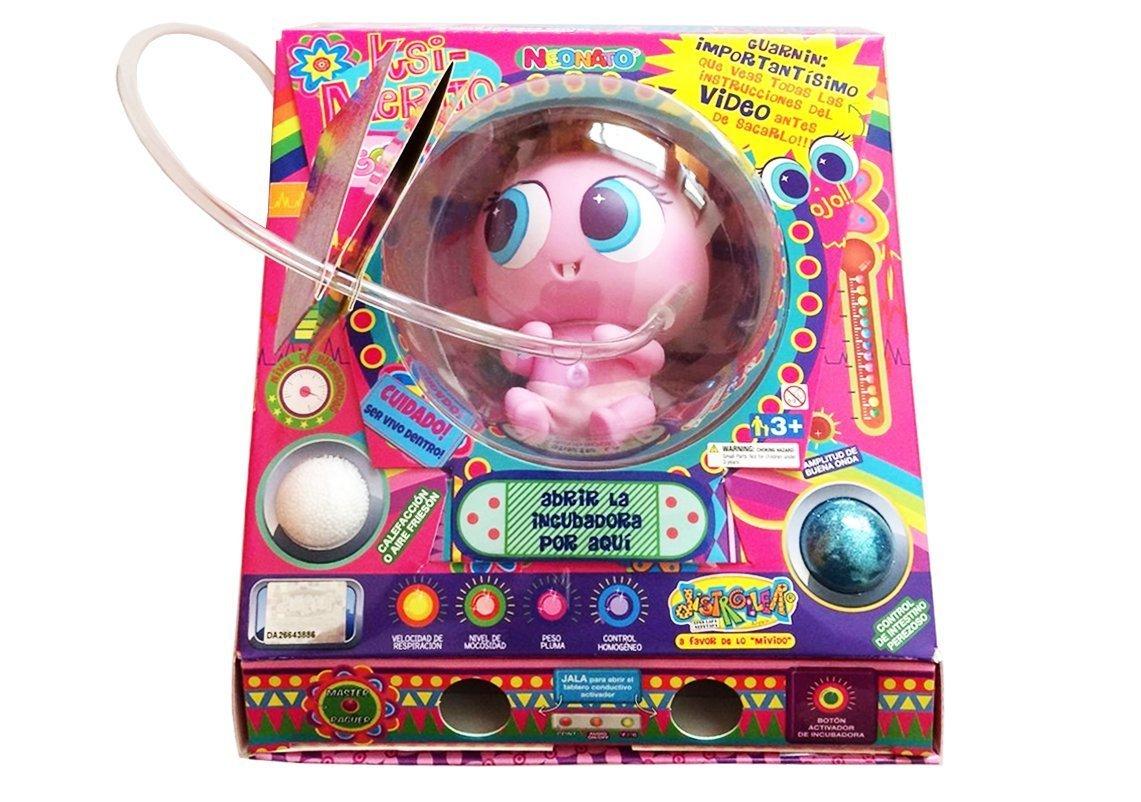 Ksimerito Nerile Neonate Doll – Pink model '' Susikin '' – Edition in Spanish – by Distroller