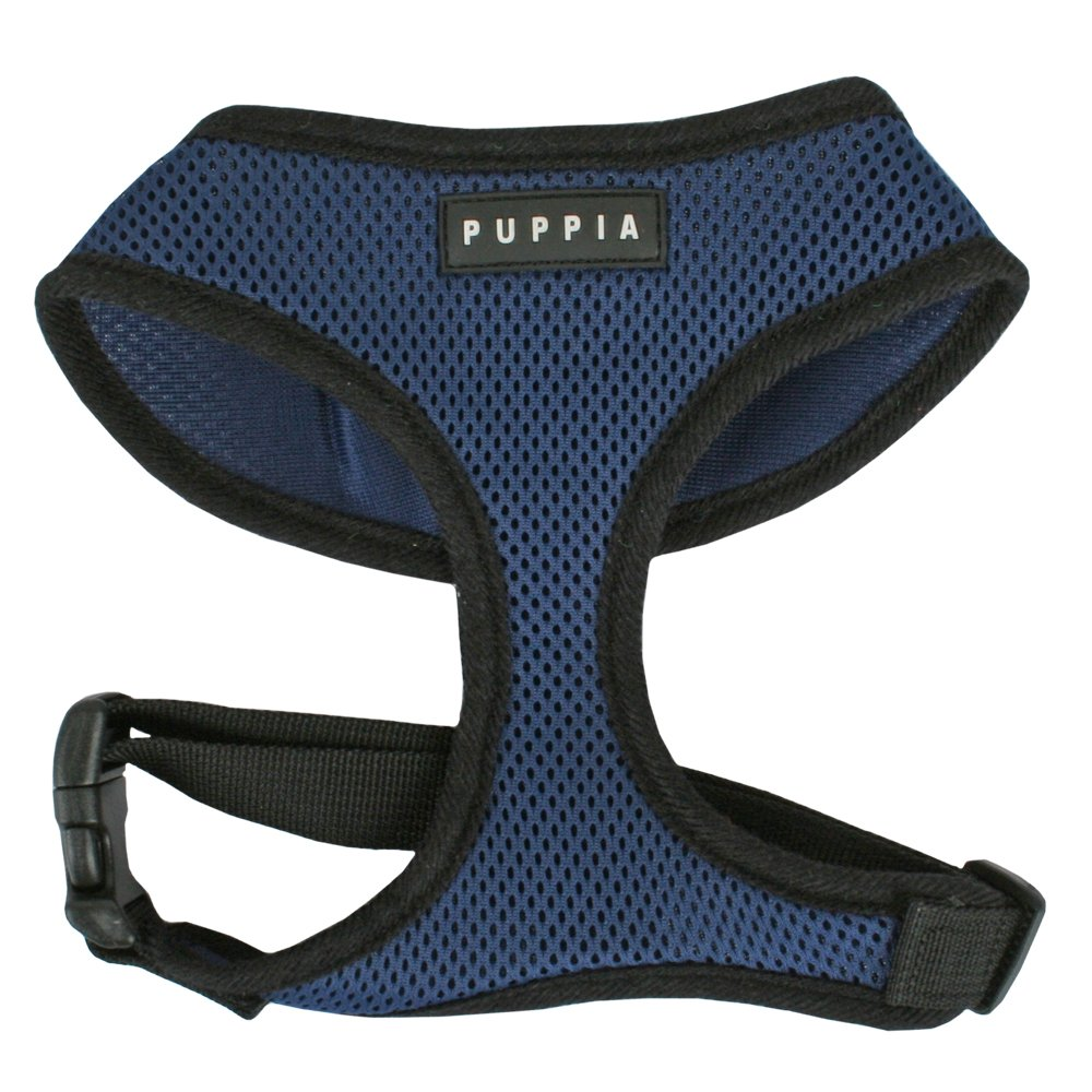 Puppia Soft Dog Harness, Royal Blue, Small