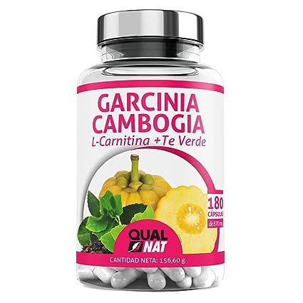 Garcinia Cambogia con L-Carnitina y té verde para reducir el apetito y acelerar el metabolismo - Suplemento alimenticio con propiedades adelgazantes