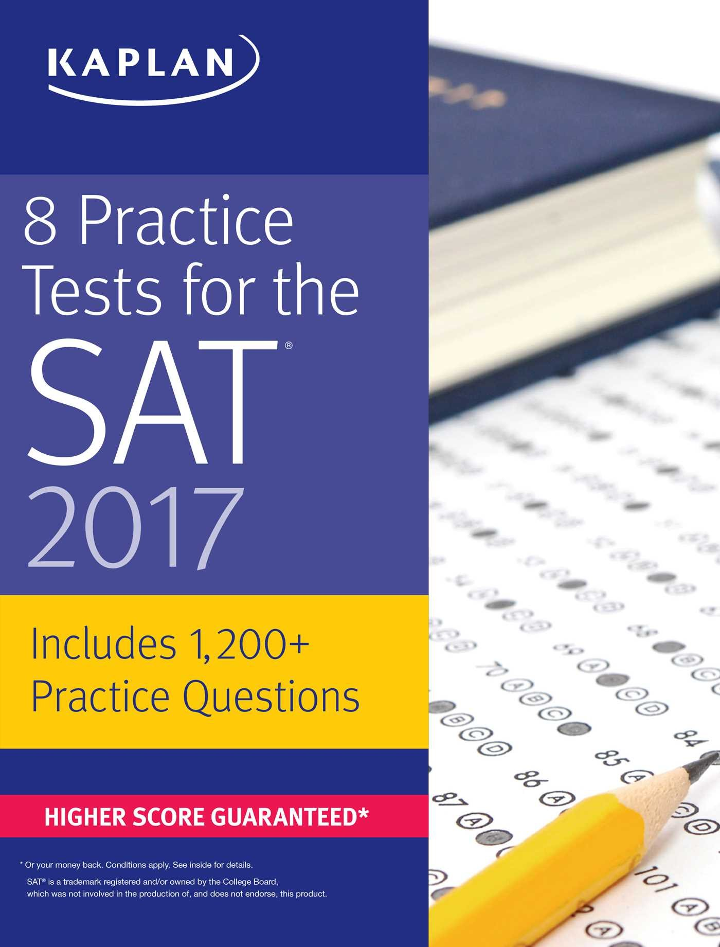 Buy 8 Practice Tests for the SAT 2017: 1, 200+ SAT Practice ...