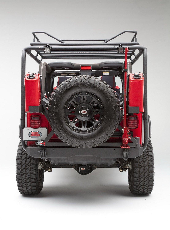 Amazon.com: Body Armor 4x4 TJ 6125 Short Wheel Base Roof Rack Base Unit For  1997 2006 Jeep TJ: Automotive