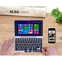 Lanruo GPD Pocket 7 pulgadas con carcasa de aluminio Mini Laptop UMPC Windows 10 sistema CPU x7-Z8750 8GB / 128GB