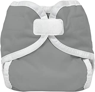 product image for Thirsties Reusable Cloth Diaper Cover, Hook & Loop Closure, Fin X-Small