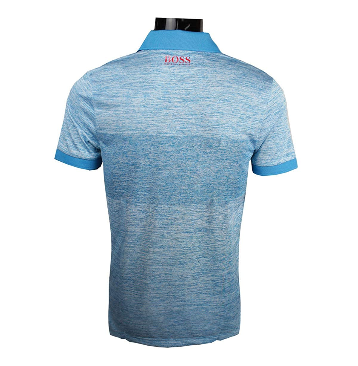77a39eda7 Amazon.com: Hugo Boss Mens Polo Golf Shirt Paddy Pro 2 Open Blue 50379281  (Small): Clothing
