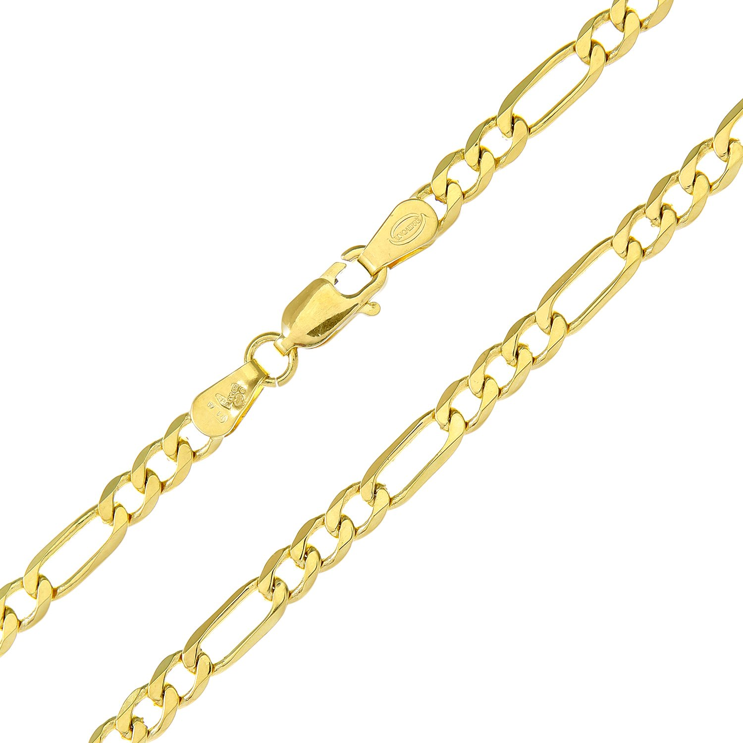 Persevering 9ct White Gold & 9ct Yellow Gold Bracelet 100% Guarantee Fine Necklaces & Pendants