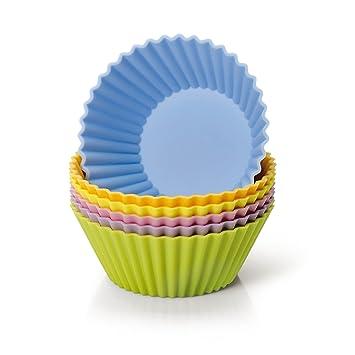 Kaiser Silikon Muffinform-Set, 6-teilig, Creativ, Silikonbackform ...